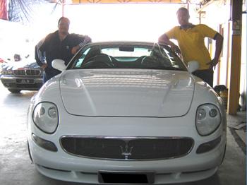 Maserati Windscreen Replacement Malaysia