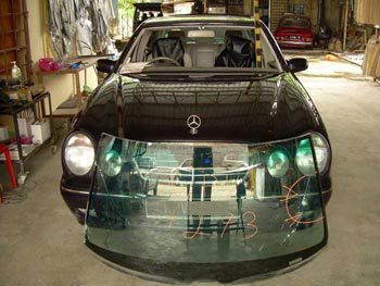 Mercedes Windscreen Replacement Malaysia