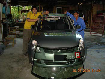Suzuki Windscreen Replacement Malaysia